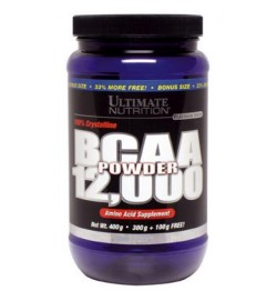BCAA 12.000 Powder 400 g (безвкусные) Ultimate