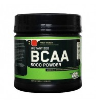 BCAA 5000 Powder 380 г  (ВКУСОВЫЕ) Optimum Nutrition