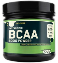 BCAA 5000 Powder 336 г  (БЕЗВКУСНЫЕ) Optimum Nutrition  СРОК 04 -20
