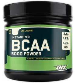BCAA 5000 Powder 336 г  (БЕЗВКУСНЫЕ) Optimum Nutrition