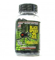 Black Spider 25 Ephedra 100caps Cloma Pharma