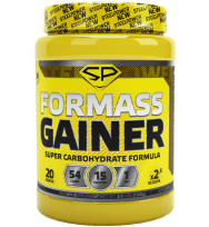 For Mass Gainer 1,5 kg Steel Power