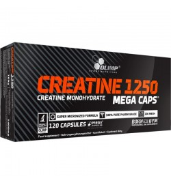 Creatine Mega caps 1250 120 caps Olimp