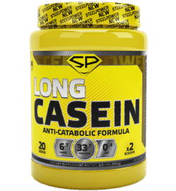 Long Casein Protein 0.9 kg Steel Power