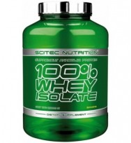 100% WHEY ISOLATE 2 кг SCITEC NUTRITION