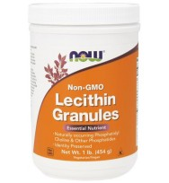 Lecithin Gran Non-GMO 1 lb NOW