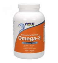 Omega 3 1000 mg 500 softgels NOW