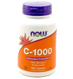 Vitamin C-1000 with Bioflavonoids 100 caps NOW