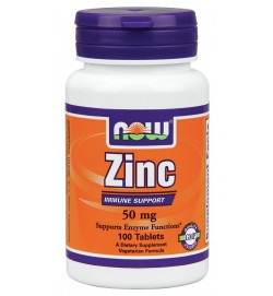 Zinc Gluconate 50 mg 100 tabs NOW