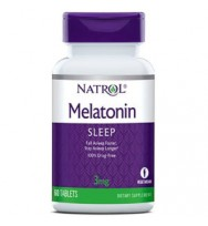 Melatonin 3 mg 60 tab Natrol
