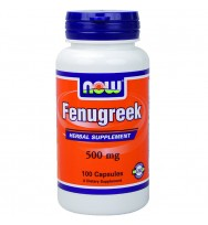 FenuGreek 500 mg 100 vcaps NOW