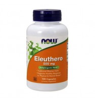 Eleuthero 500 mg 100 caps NOW
