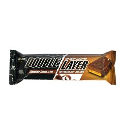 Шоколад Double Layer Bar 60 g Maxler